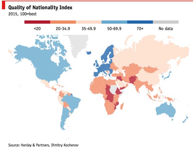 Citizenship Comparison Economist