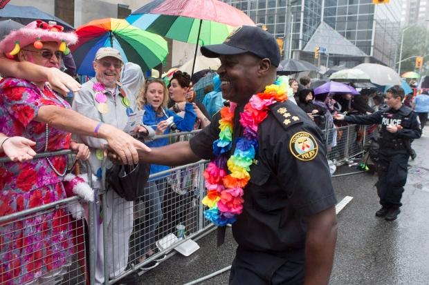 Toronto Pride Parade Mark Saunders