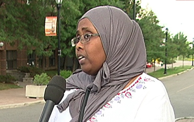 Amran Ali Canadian Somali Mothers Association Ottawa Abdirahman Abdi July 25 2016